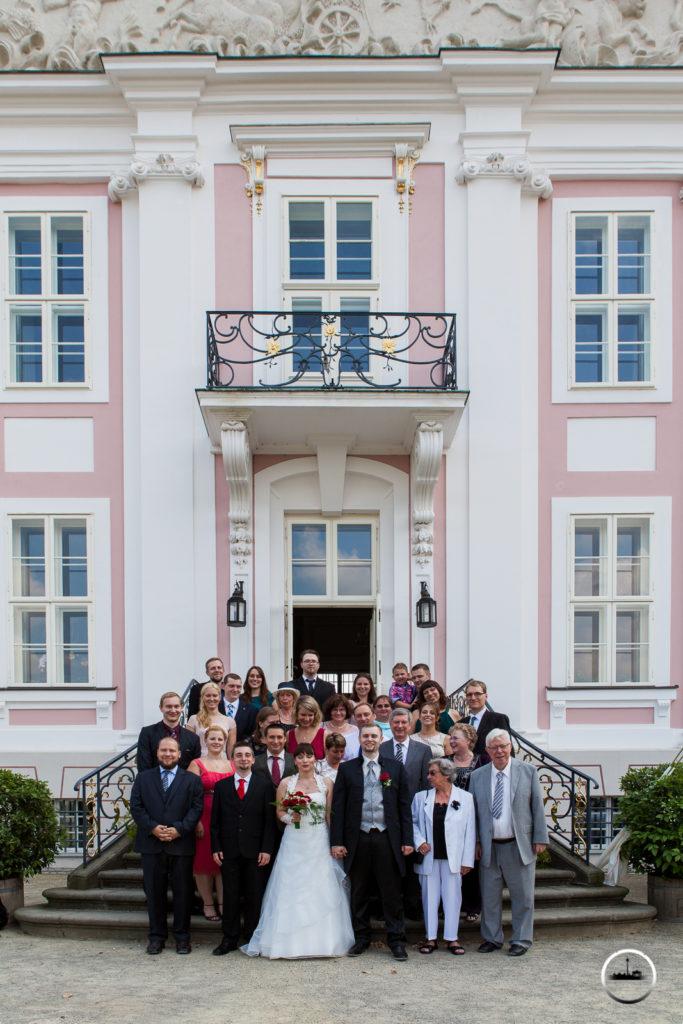 Gruppenbild Schloss Friedrichsfelde